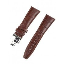 Ingersoll strap [26 mm] brown with silver clasp ref. 25049