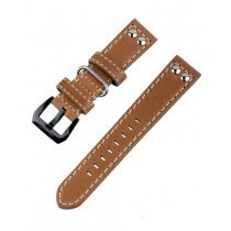 Ingersoll Bison strap [22 mm] brown with black clasp ref. 25052