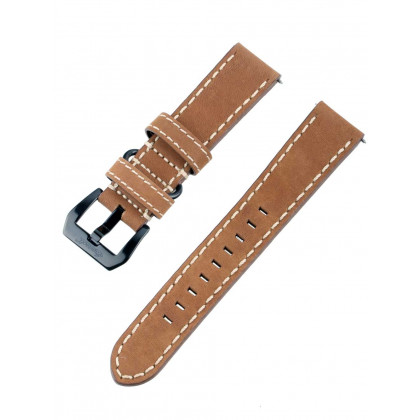 Ingersoll Bison strap [22 mm] brown with black clasp ref. 25053