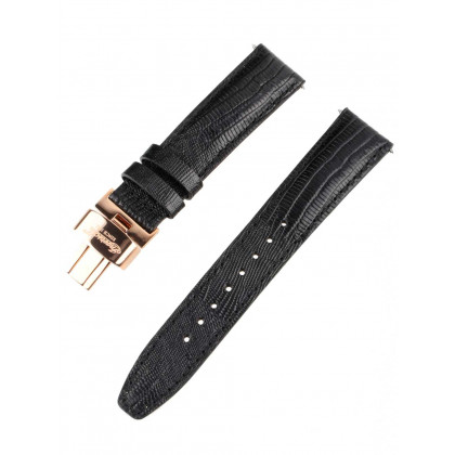 Ingersoll Replacement Strap [20 mm] black + rosé buckle Ref. 25038