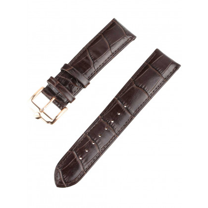 Ingersoll Replacement Strap [22 mm] brown + rosé buckle Ref. 25040