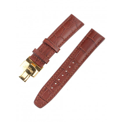 Ingersoll strap [22 mm] brown with golden clasp ref. 25046