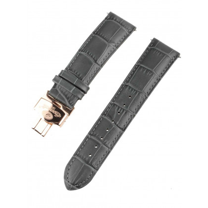 Ingersoll Replacement Strap [22 mm] grey + rosé buckle Ref. 25047
