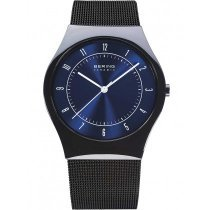 Bering 32039-440 ceramic men`s watch 39mm 3ATM