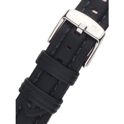 Morellato A01X3823A58019CR18 Black Watch Strap 18mm
