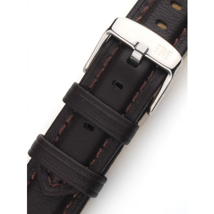 Morellato A01X3823A58032CR18 Brown Watch Strap 18mm
