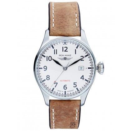 Iron Annie 5162-3 Flight Control Automatic Men's 40mm 5ATM
