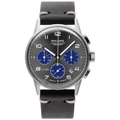 Iron Annie 5372-3 G38 Chronograph Men's 42mm 10ATM