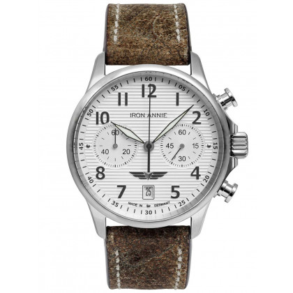 Iron Annie 5876-1 Chronograph Men's 42mm 5ATM