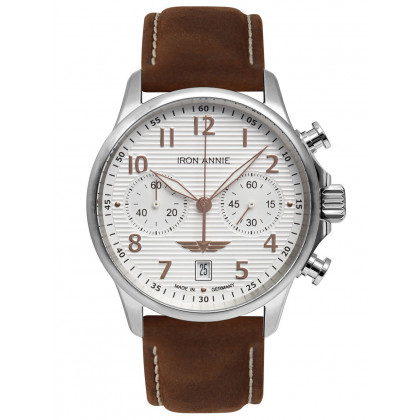Iron Annie 5876-4 Chronograph Men's 42mm 5ATM