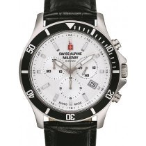 Swiss Alpine Military 7022.9532 chronograph 42mm 10ATM