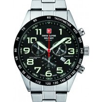 Swiss Alpine Military 7047.9137 chronograph 43mm 10ATM
