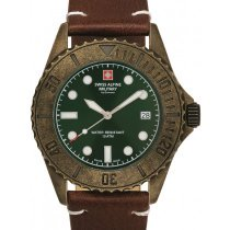 Swiss Alpine Military 7051.1584 diver vintage 41mm 10ATM