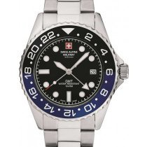 Swiss Alpine Military 7052.1132 GMT diver 42mm 10ATM
