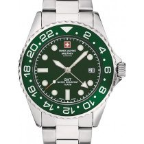 Swiss Alpine Military 7052.1134 GMT diver 42mm 10ATM
