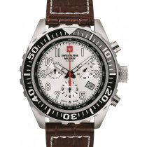 Swiss Alpine Military 7076.9532 chronograph 44mm 10ATM