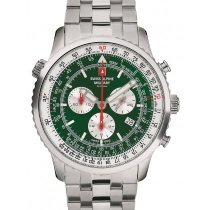 Swiss Alpine Military 7078.9134 chrono men`s 45mm 10ATM