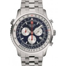 Swiss Alpine Military 7078.9135 chrono men`s 45mm 10ATM