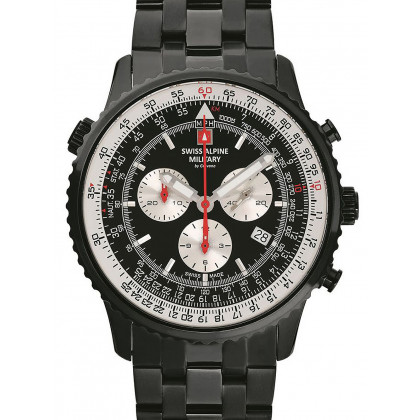 Swiss Alpine Military 7078.9177 chrono men`s 45mm 10ATM