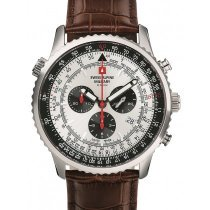 Swiss Alpine Military 7078.9532 chrono men`s 45mm 10ATM