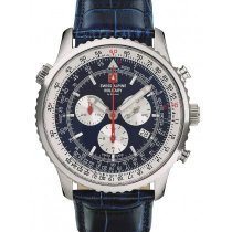 Swiss Alpine Military 7078.9535 chrono men`s 45mm 10ATM