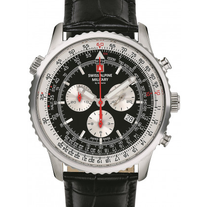 Swiss Alpine Military 7078.9537 chrono men`s 45mm 10ATM