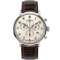 Zeppelin Hindenburg Chronograph 7086-4 Men's Watch 40 mm