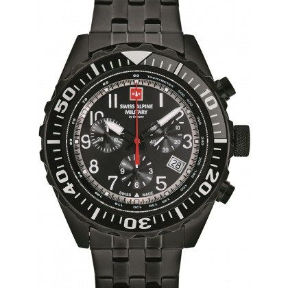 Swiss Alpine Military 7076.9177 chrono 44mm 10ATM
