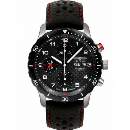 Zeppelin 7216-2 Night Cruise automatic chrono 42 mm 10ATM