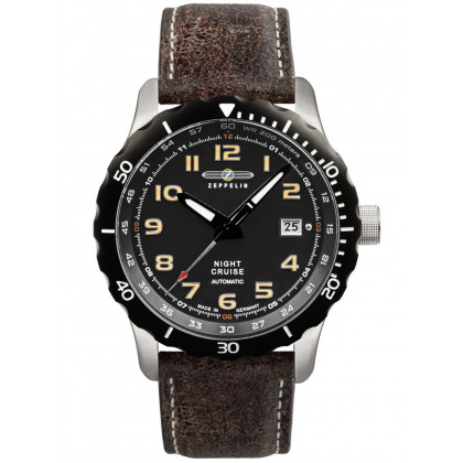 Zeppelin 7264-5 Night Cruise Men's 43mm 20ATM