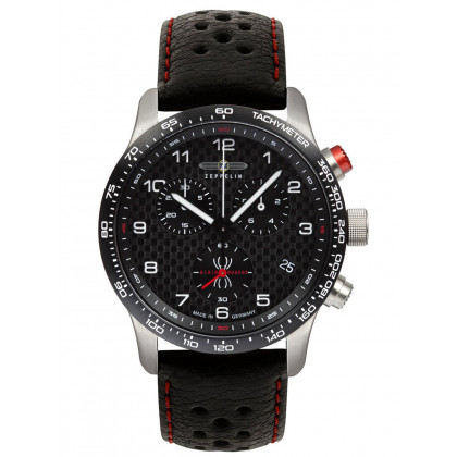 Zeppelin 7294-4 Night Cruise Chronograph 43mm 10ATM
