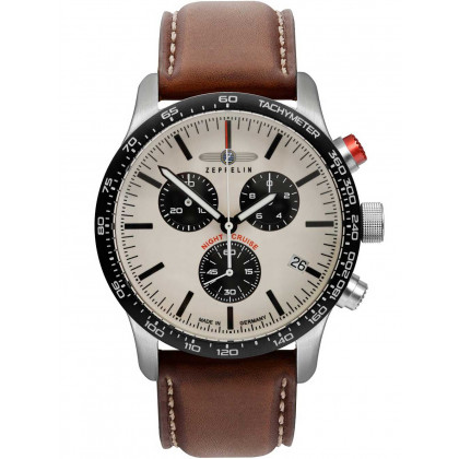 Zeppelin 7296-1 Night Cruise chrono 42mm 10ATM