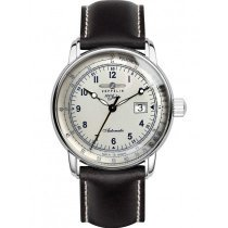 Zeppelin 7654-4 men`s automatic 100 years sapphire glass 43mm