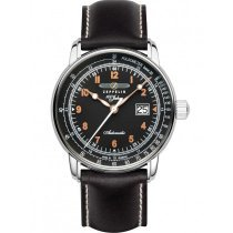 Zeppelin 7654-5 men`s automatic 100 years sapphire glass 43mm
