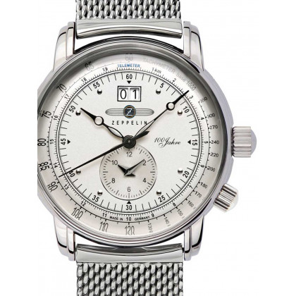 Zeppelin 7640M-1 100 years Zeppelin Men's 43mm 5 ATM