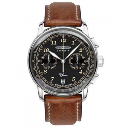 Zeppelin 7674-3 LZ-127 Chronograph 43mm 5ATM
