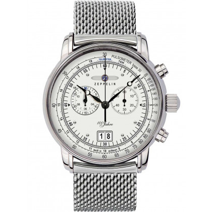 Zeppelin 7690M-1 big-date chrono 100 years 43mm 5ATM