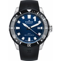 Edox 80119-3N-BUIN CO-1 automatic date 42mm 30ATM