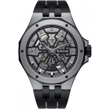 Edox 85303-357GN-NGN Delfin Mecano automatic 43mm 20ATM