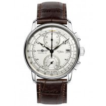 Zeppelin 8670-1 100 years Chrono Men's 43mm 5ATM
