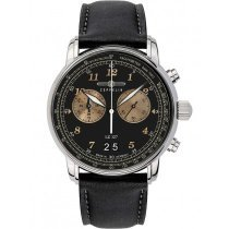 Zeppelin 8684-2 Graf Zeppelin LZ127 big-date chrono 41mm 5ATM