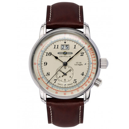 Zeppelin 8644-5 LZ-127 Men's 43mm 5ATM