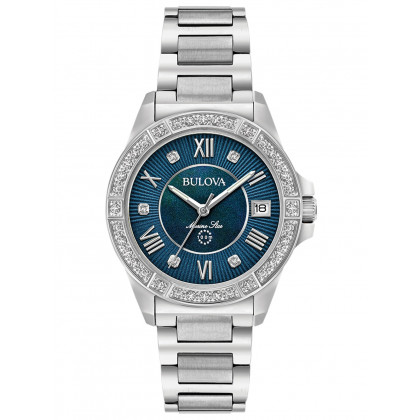 Bulova 96R215 Marine Star ladies watch 32mm 10ATM