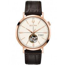 Bulova 97A136 classic automatic men´s watch 41mm 3ATM