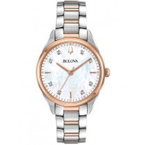 Bulova 98P183 classic ladies watch 34mm 3ATM