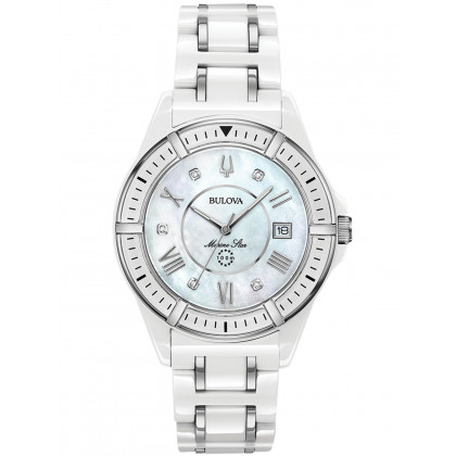 Bulova 98P172 Marine Star Ladies 37mm 10ATM