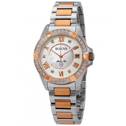Bulova 98R234 Marine Star ladies 32mm 10ATM