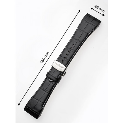 Perigaum Replacement Strap P-0812 28 x 180 mm Black