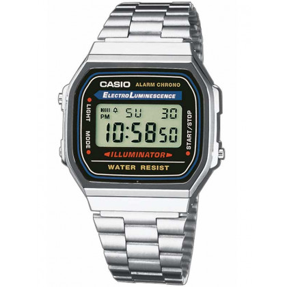 CASIO A168WA-1YES Collection 35mm 3 ATM