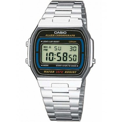 CASIO A164WA-1VES Collection 35mm 3 ATM